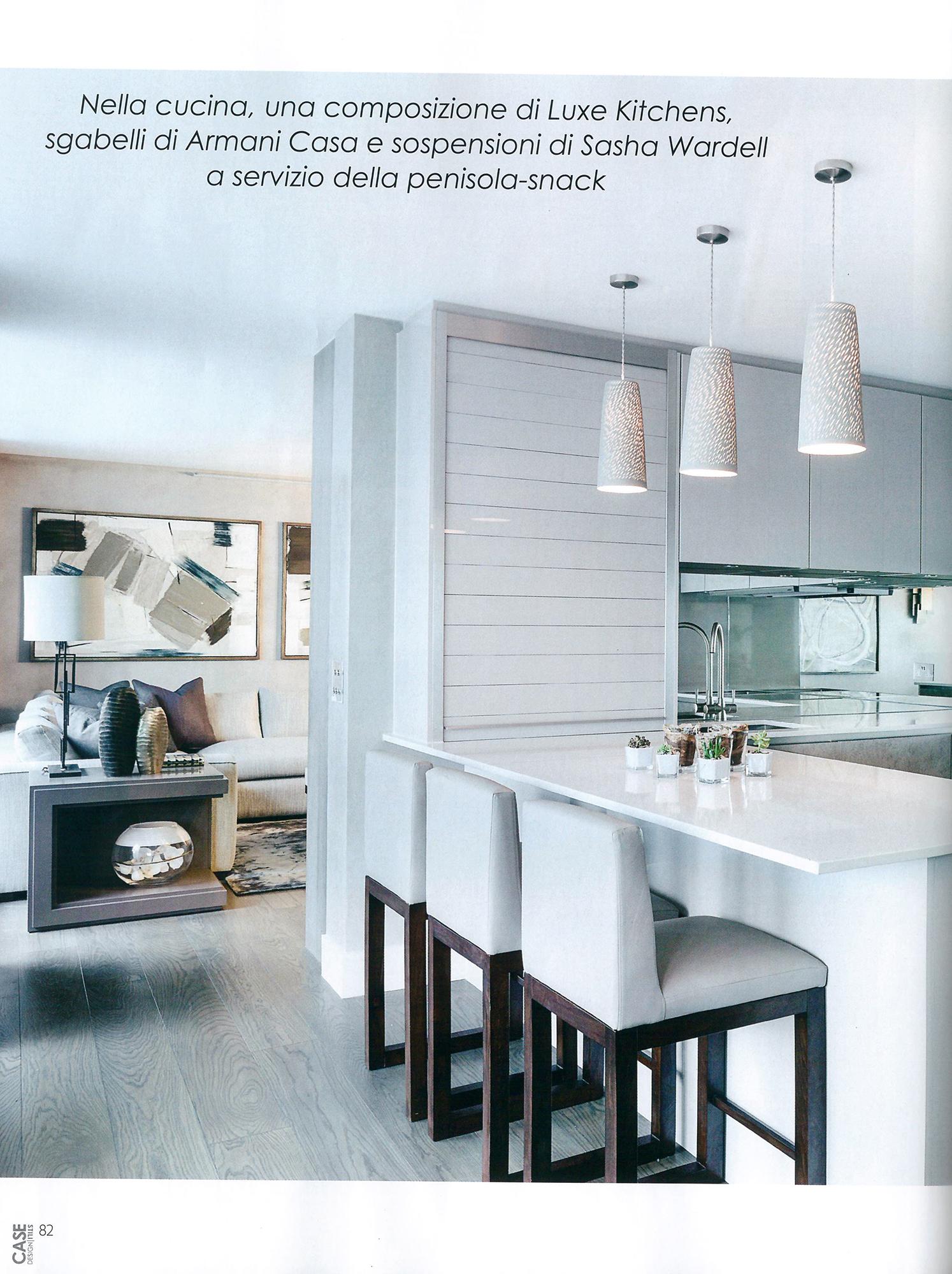 Case E Stili Design news - light on white